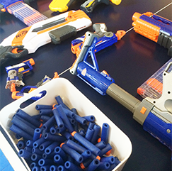 Office photo 2 - Nerf toys